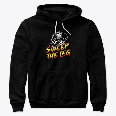Sweep the Leg 1984 [Cobra Kai / Karate Kid] Unisex Premium Pullover Hoodie [CHOOSE COLOR] [CHOOSE SIZE]