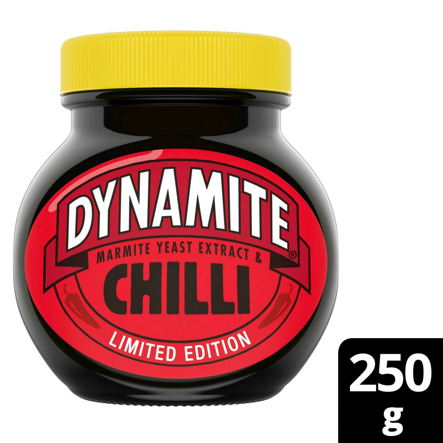 Marmite Yeast Extract (Limited Edition) Dynamite Chilli Spread [Glass Jar] 250g