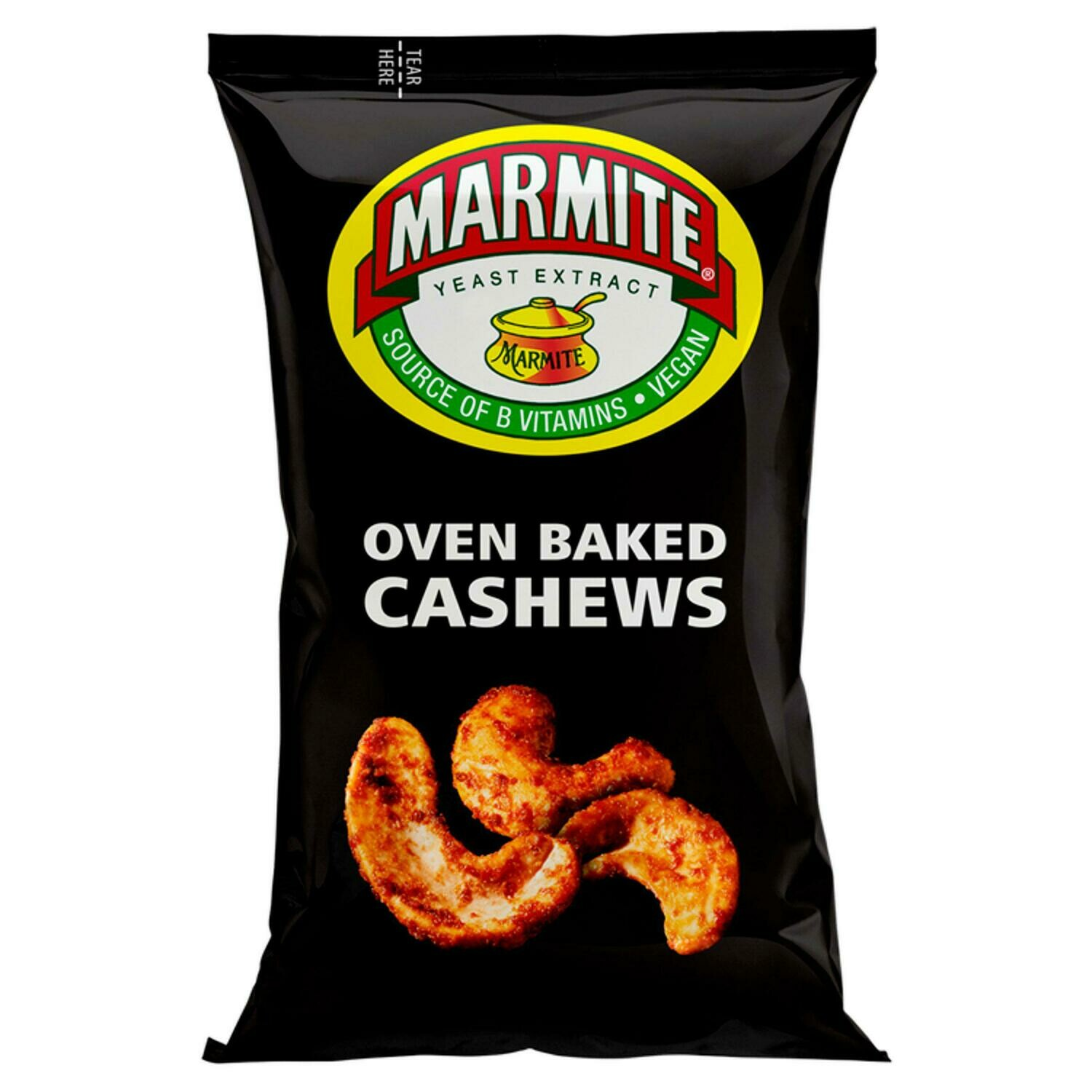 Marmite Oven Baked Cashew Nuts 90g Pack