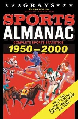 Grays Sports Almanac: Complete Sports Statistics 1951-2000 [88MPH EDITION - LIMITED TO 1,000 PRINT RUN] Back to the Future Movie Prop Replica