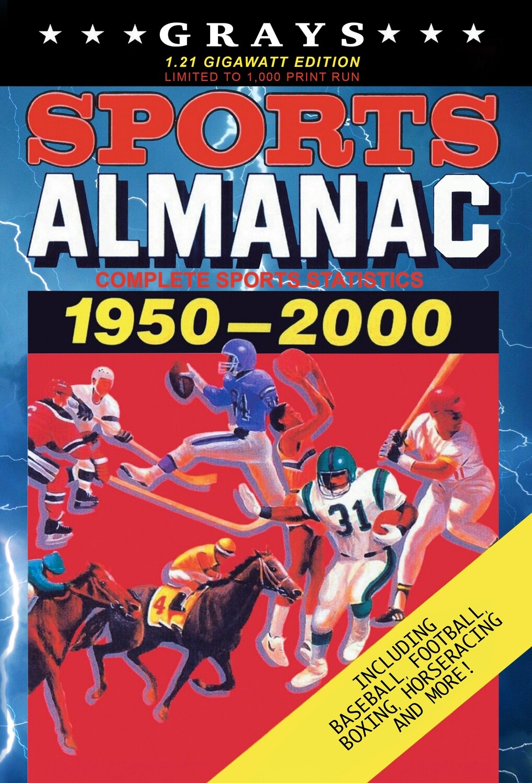 Grays Sports Almanac: Complete Sports Statistics 1951-2000 [1.21 GIGAWATT EDITION - LIMITED TO 1,000 PRINT RUN] Back to the Future Movie Prop Replica