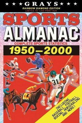 Grays Sports Almanac: Complete Sports Statistics 1950-2000 [RAINBOW DIAMOND EDITION - LIMITED TO 1,000 PRINT RUN] Back to the Future Movie Prop Replica