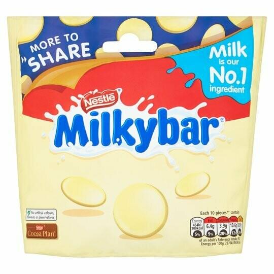 Nestle Milkybar Big Share Bag 212g Pouch