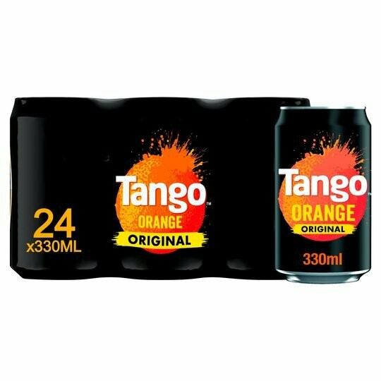 Tango Original Orange Soda Drink 330ml [24 PACK]