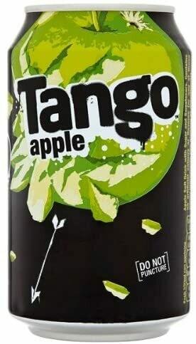 Tango Apple Soda Drink 330ml [24 PACK]