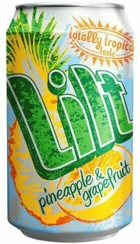 Lilt Pineapple & Grapefruit Soda Drink 330ml Can [CASE OF 24]