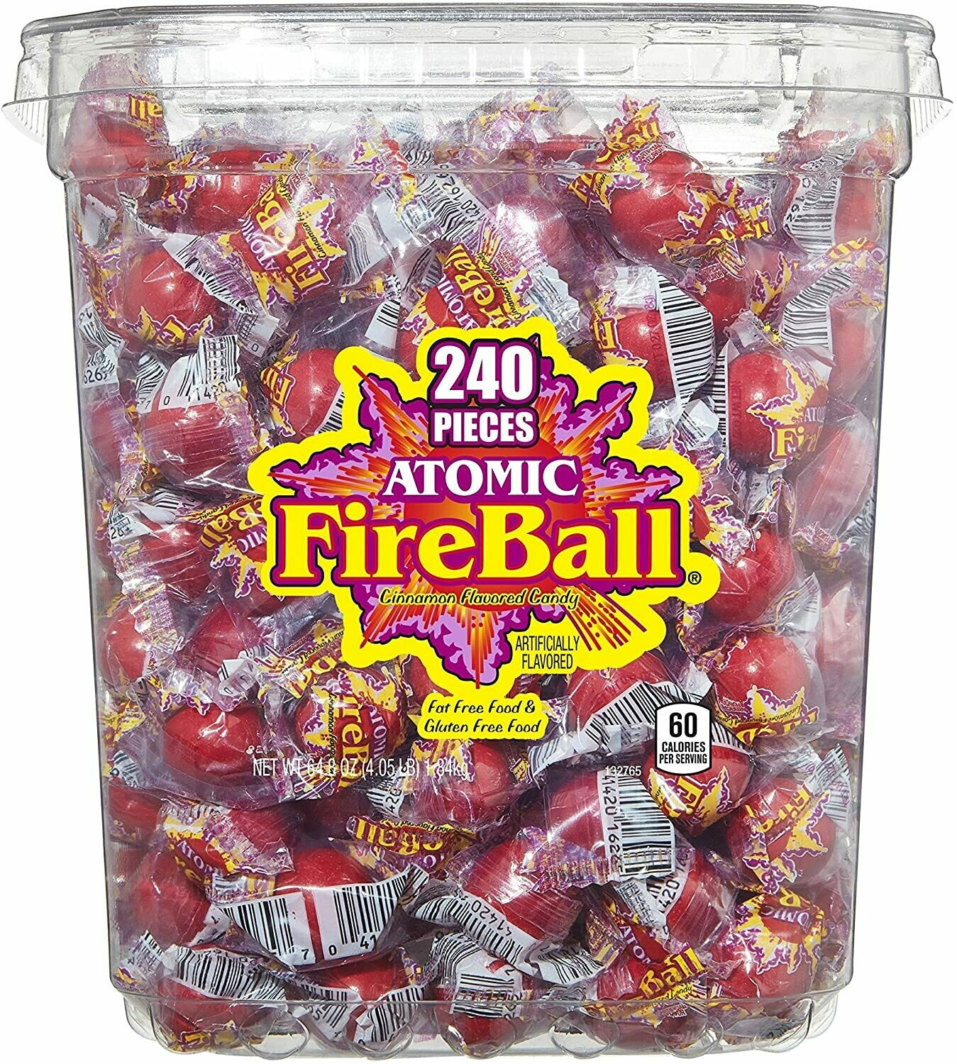 Atomic Fireballs Candy Sweets [240 PIECES]