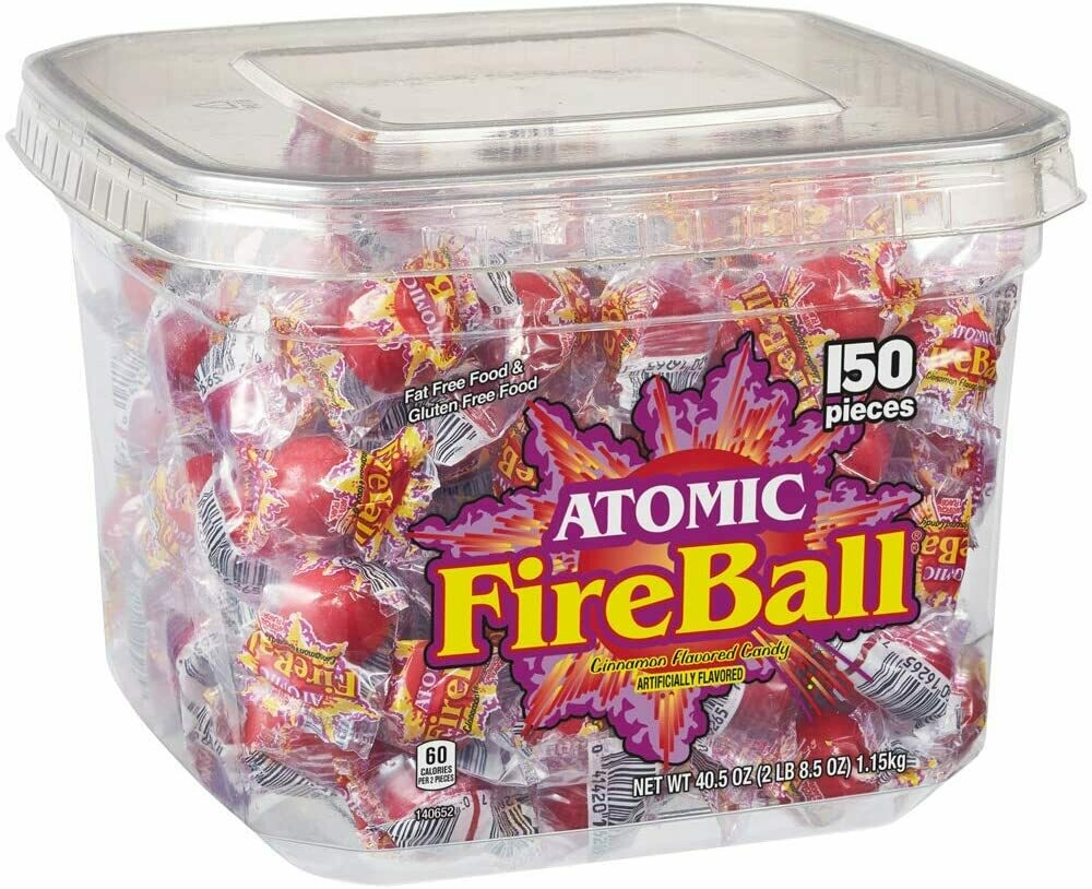 Atomic Fireballs Candy Sweets [150 PIECES]