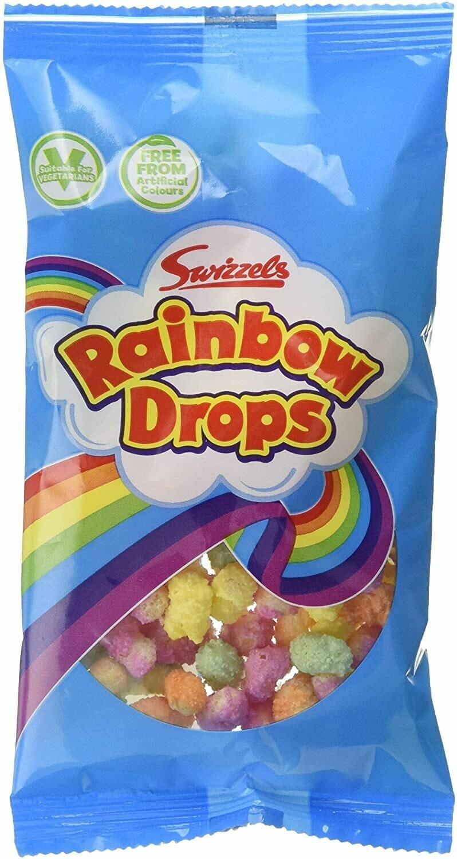 Swizzels Rainbow Drops 10g Bag [PACK OF 48]