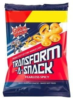 Golden Wonder Transform-A-Snack Fearless Spicy 30g Bag [24 PACK]