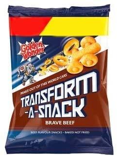 Golden Wonder Transform-A-Snack Beef 30g Bag [24 PACK]
