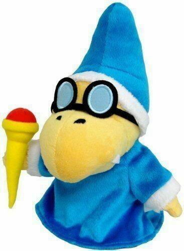 Magikoopa Kamek 6'' Soft Plush Toy [Super Mario Nintendo]