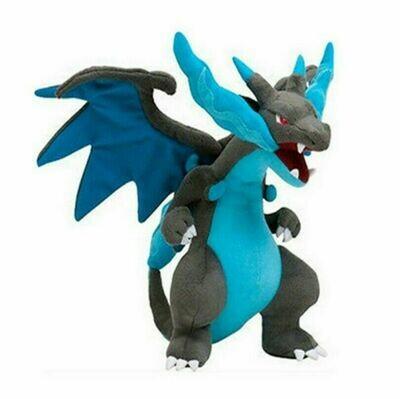 Pokemon Mega Charizard X - 12'' Stuffed Soft Plush Toy