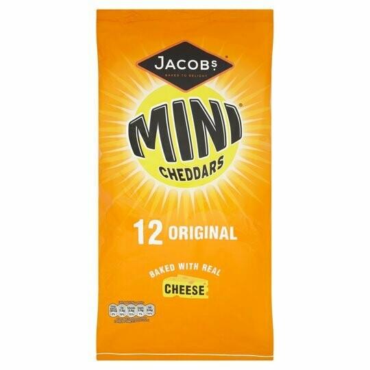 Jacobs Mini Cheddars 25g [12 PACK]