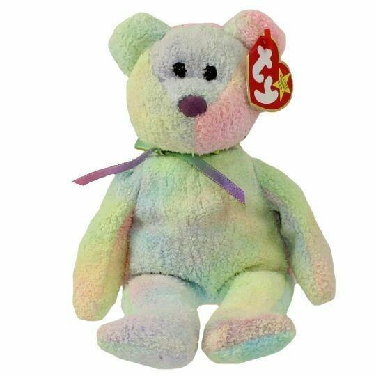 TY Beanie Baby - Groovy the Bear 1999 [Retired]