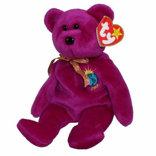 TY Beanie Babies Collection - Millennium the Bear 1999 [Retired]