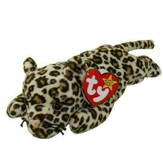 TY Beanie Babies Collection - Freckles the Leopard 1999 [Retired]