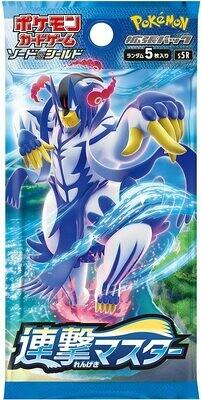 Pokemon: Sword & Shield Battle Styles [Pocket Monsters - Japanese] Expansion Pack: Rengeki Master Pack