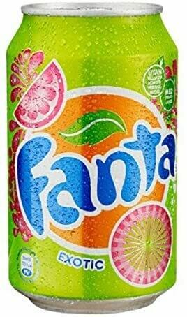 Fanta Exotic Soda 330ml Can [24 PACK]