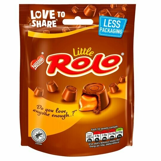 Nestle Little Rolo Chocolate Pouch 103g