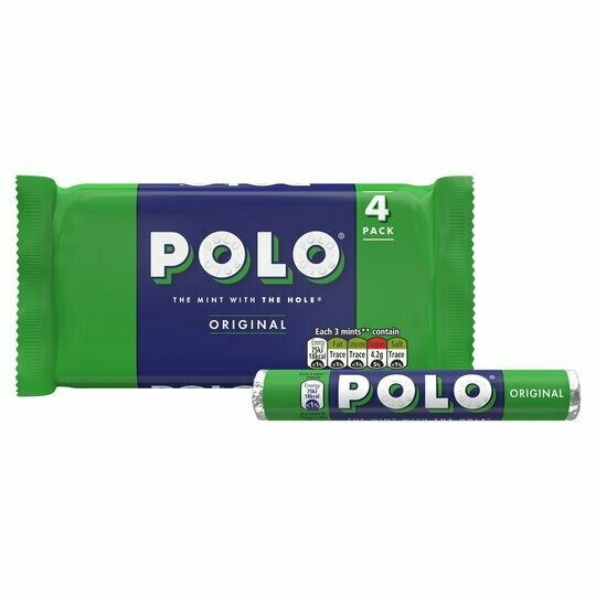 Polo Mints Roll 33.4g Roll [4 PACK]