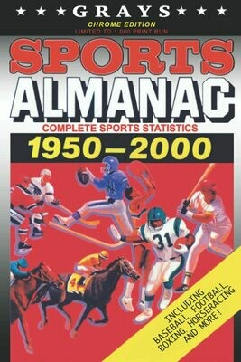 Grays Sports Almanac: Complete Sports Statistics 1950-2000 [Chrome Edition - LIMITED TO 1,000 PRINT RUN] Back to the Future Movie Prop Replica