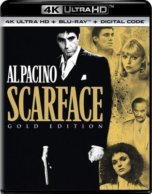 Scarface (1983) 4K Ultra HD + Blu-ray + Digital