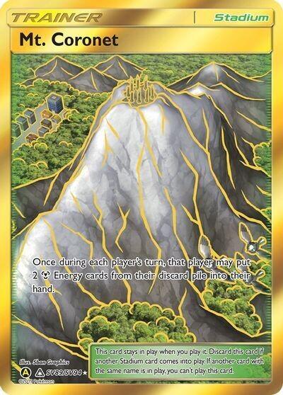 Pokemon Trading Card: Hidden Fates - Mt. Coronet SV89/SV94