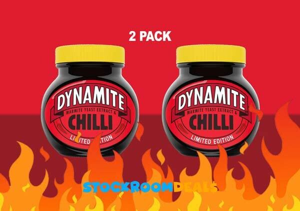 Marmite DYNAMITE Chilli Yeast Extract Paste 250g [2 PACK]