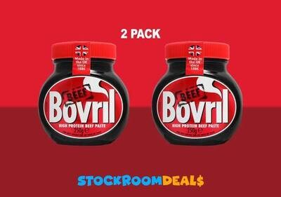 Bovril Beef Extract Yeast Paste 250g [2 PACK]