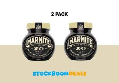 Marmite XO (Extra Old) Yeast Extract Paste 250g [2 PACK]
