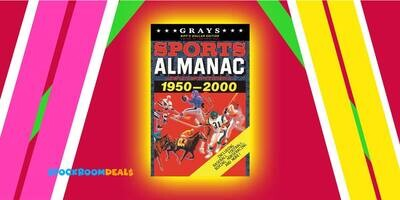 Grays Sports Almanac: Complete Sports Statistics 1951-2000 [BIFF'S DOLLAR EDITION - LIMITED TO 1,000 PRINT RUN] Back to the Future Movie Prop Replica