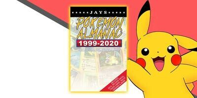 Jays Pokemon Almanac [First Edition] - 20 Years of History: Details on every rare card, plus promos, misprints, error cards and much more! [Paperback] Book