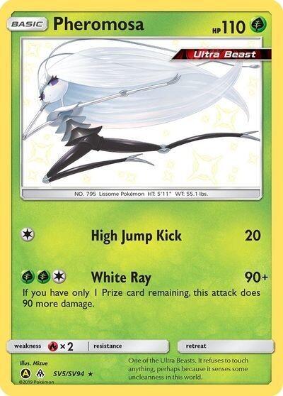 Pokemon Trading Card: Hidden Fates - Pheromosa SV5/SV94