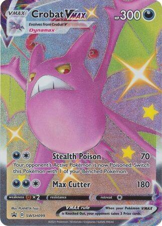 Pokemon Trading Card: Sword & Shield [Promo] - Crobat VMAX SWSH099