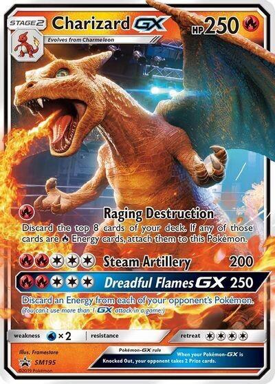 Pokemon Trading Card: Sword & Shield [Promo] - Charizard GX SM195
