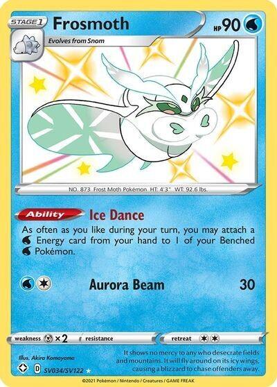 Pokemon Trading Card: Shining Fates - Frosmoth SV034/SV122