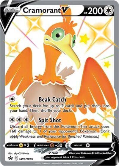 Pokemon Trading Card: Sword & Shield [Promo] - Cramorant V SWSH086