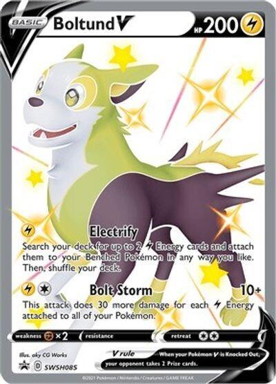 Pokemon Trading Card: Sword & Shield [Promo] - Boltund V SWSH085