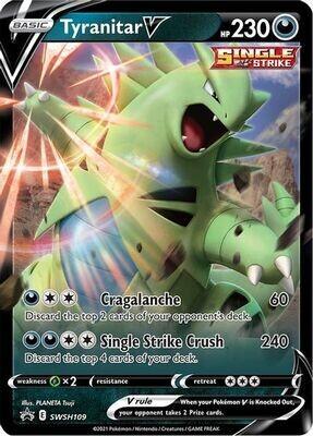 Pokemon Trading Card: Sword & Shield [Promo] - Tyranitar SWSH109