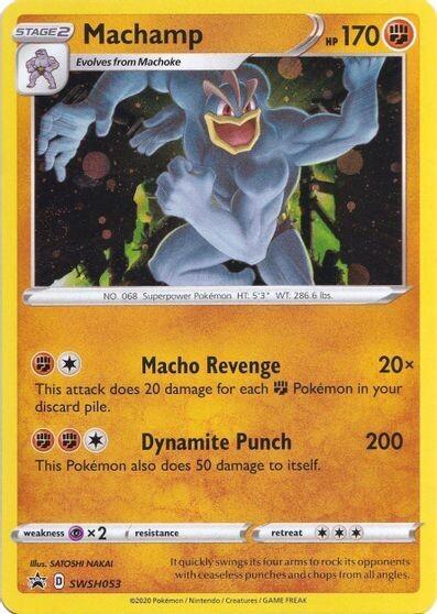 Pokemon Trading Card: Sword & Shield [Promo] - Machamp SWSH053