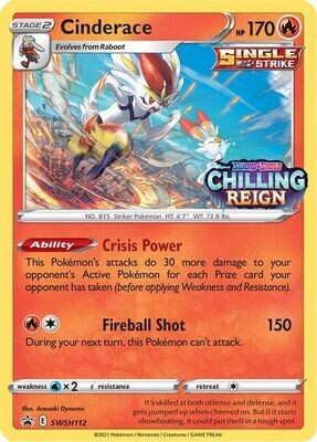 Pokemon Trading Card: Sword & Shield - Chilling Reign [Promo] - Bronzong SWSH11 [Stamped]