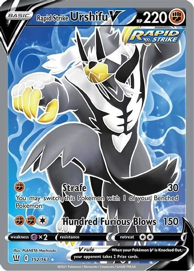 Pokemon Trading Card: Battle Styles - Urshifu V 152/163