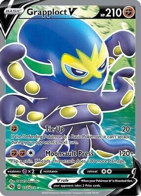 Pokemon Trading Card: Champion's Path - Grapploct V 072/073