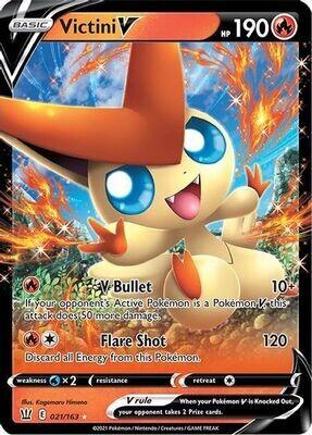 Pokemon Trading Card: Battle Styles - Victini V 021/198