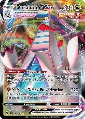 Pokemon Trading Card: Evolving Skies - Duraludon VMAX 123/203