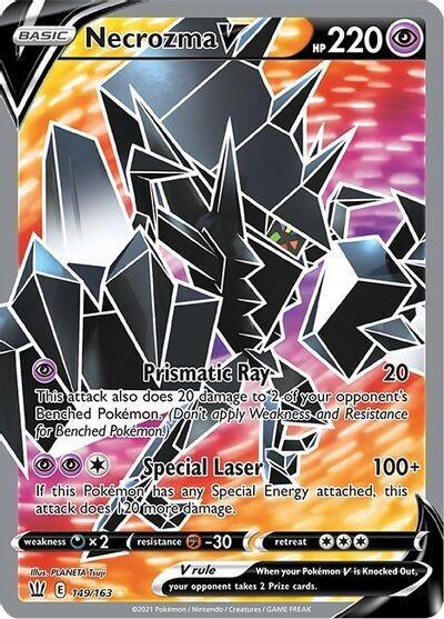 Pokemon Trading Card: Battle Styles - Necrozma V 149/163