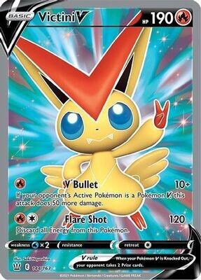 Pokemon Trading Card: Battle Styles - Victini V 144/163