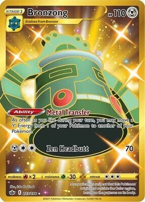 Pokemon Trading Card: Chilling Reign - Bronzong 223/198