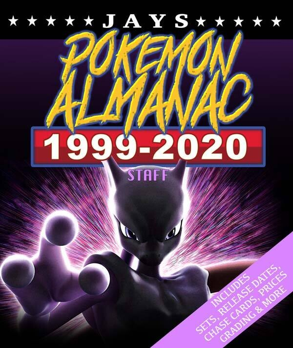 Jays Pokemon Almanac [STAFF Edition] - 20 Years of History: Details on every rare card, plus promos, misprints, error cards and much more! [Paperback] Book